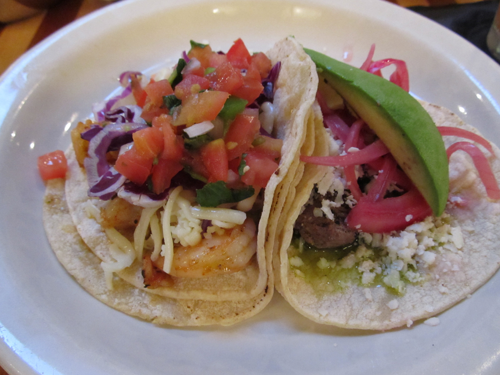 ... mex grill boston these tacos contained just grilled shrimp tacos with