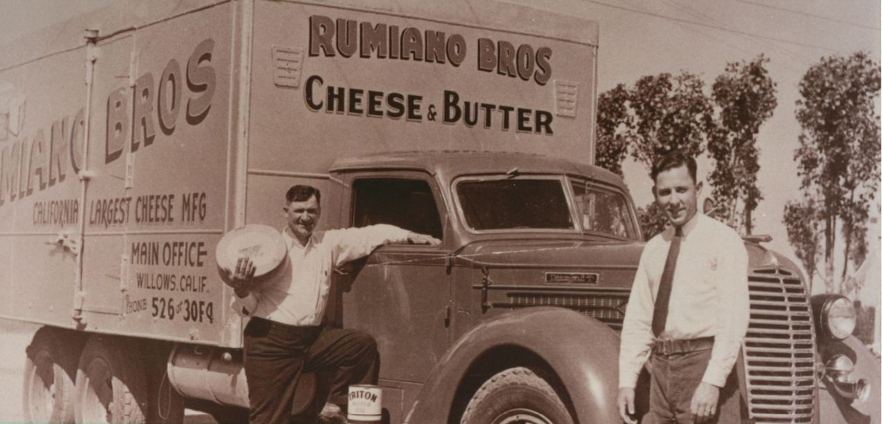 Richard Rumiano (grandfather's brother) and Son Monroe (one of their employees)