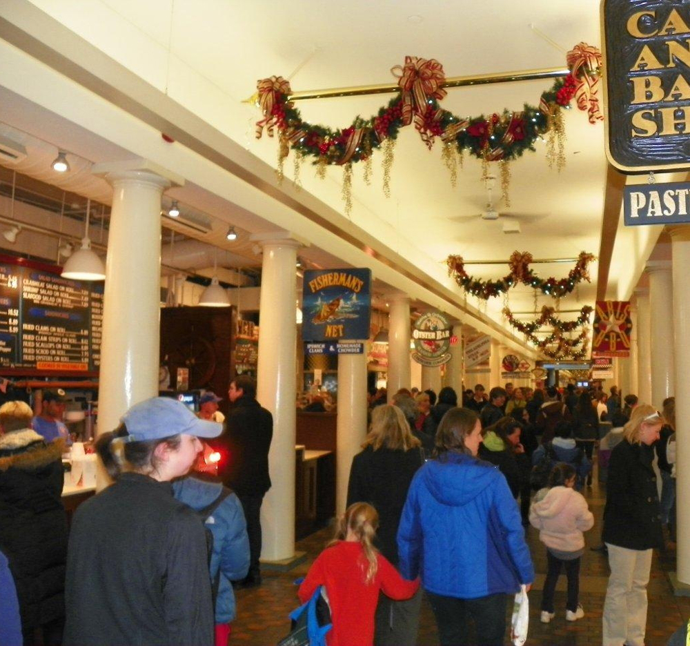 Foo Tales A Day In Boston Part 1 Faneuil Hall Marketplace Quincy Market
